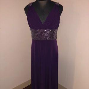 Formal Purple Gown